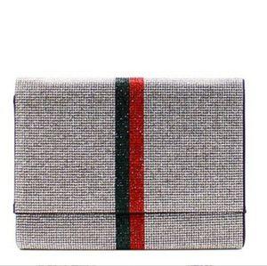 Handbags - Rhinestone clutch/crossbody
